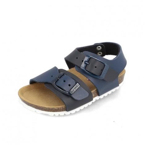 Sandales Bios Bleu électrique